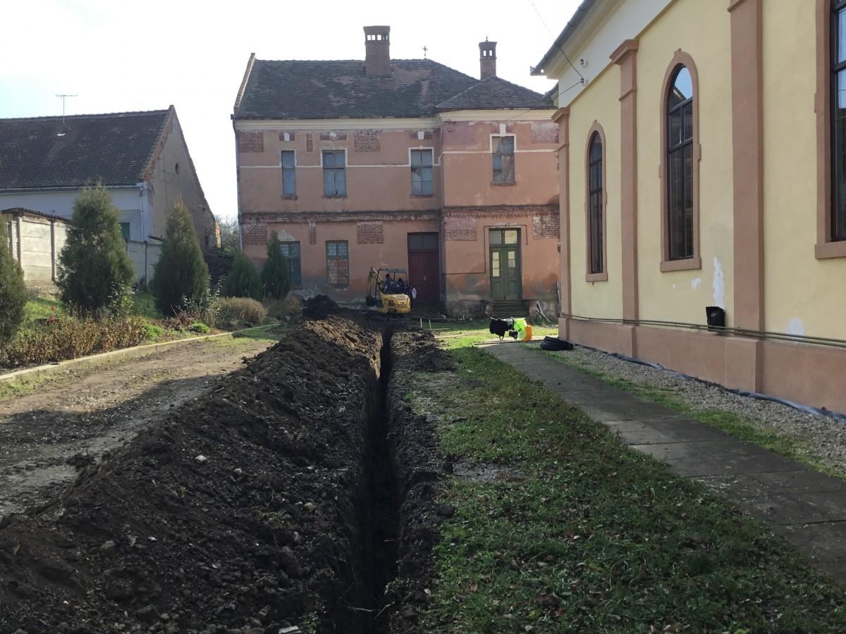 Școala din Gușterița, la sfârșitul anului 2018