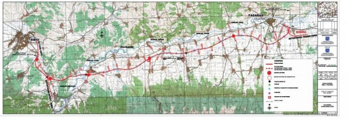 Drum expres Sibiu - Fagaras