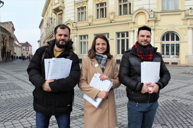 Validare semnături OameniNoi vancu, Marian Zamfiroiu plus și Diana Muresan USR