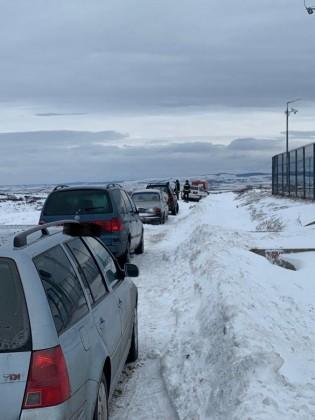 masini blocate zapada