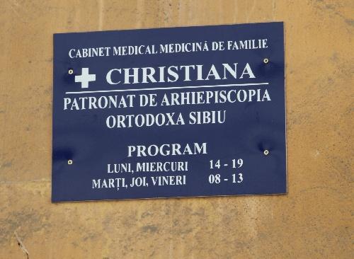cabinet medicalCiristiana