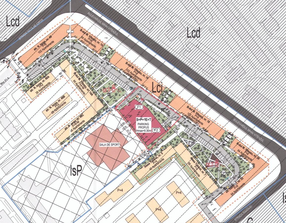 Ridicarea parcării supraetajate va duce la reconfigurarea spațiilor publice