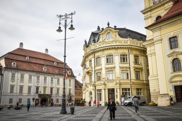 Sibiu piata mare primarie brukenthal