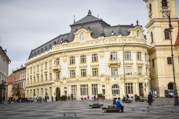 Sibiu piata mare primarie