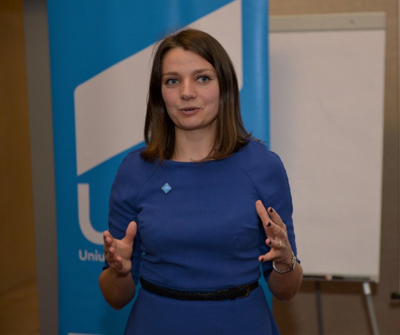 Diana Mureșan președintă USR Sibiu
