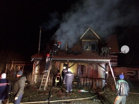 incendiu raul sadului cabana