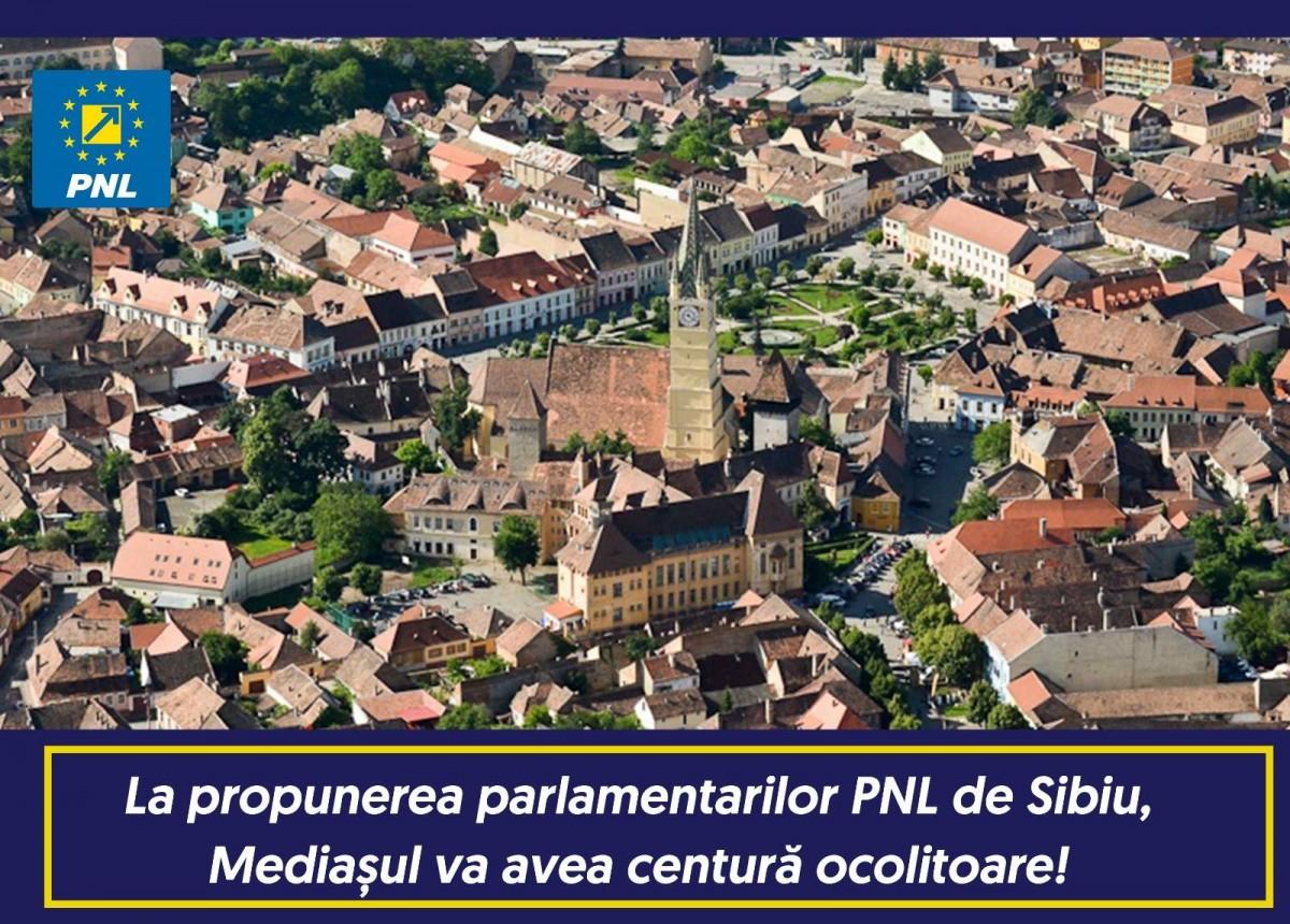 Fotografia atașată pe pagina de Facebook a PNL Sibiu