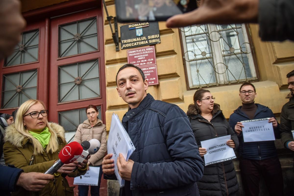 """În urmă cu un an, Florin Zereș era singurul magistrat sibian care discuta în fața camerelor despre neregulile din """"Legile Justiției"""" care au scos oamenii în stradă"""