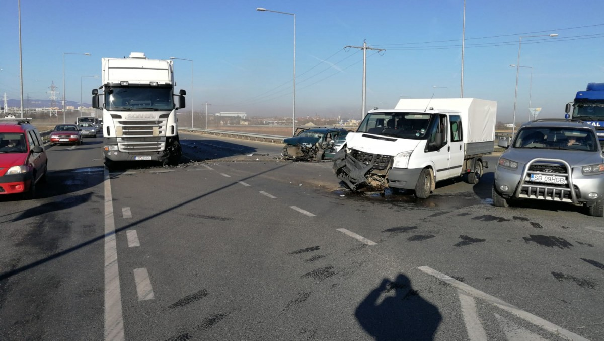 accident bretea autostrada