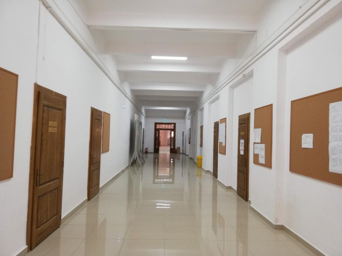 etaj 1 facultatea litere