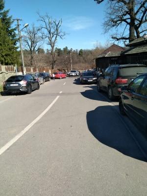 masini pe trotuar valea aurie (2)
