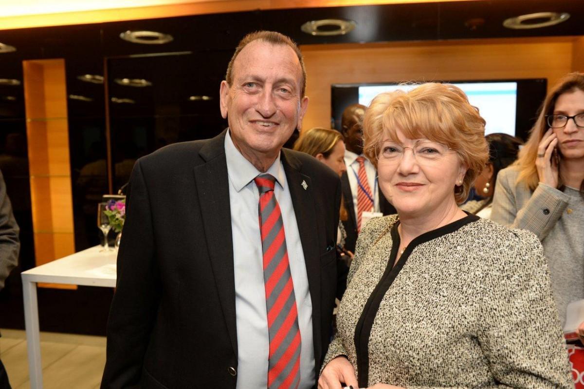 primarul Tel Aviv, dl Ron Huldai - primarul Astrid Fodor