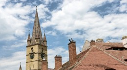 sibiu acoperisuri biserica evanghelica