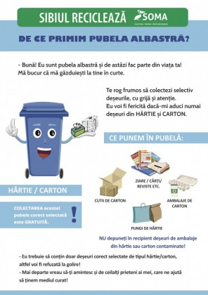 siblil recicleaza flyer