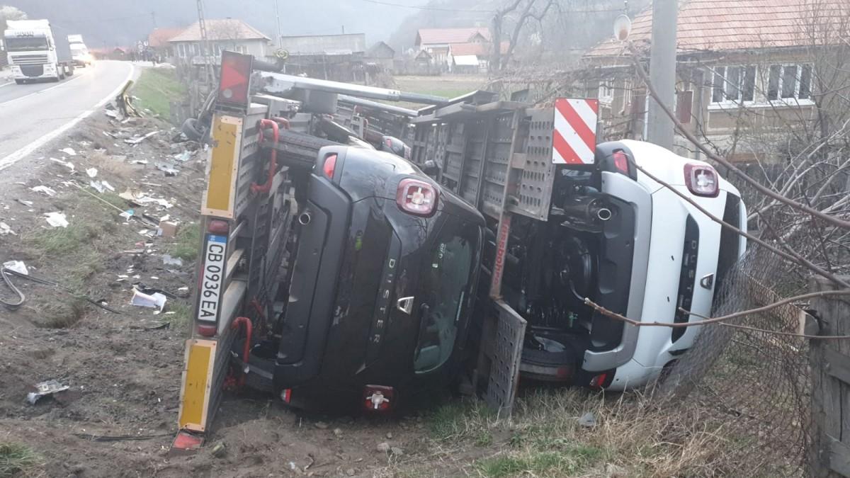 accident TIR valea oltului 2