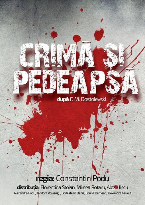 crima si pedeapsa teatru