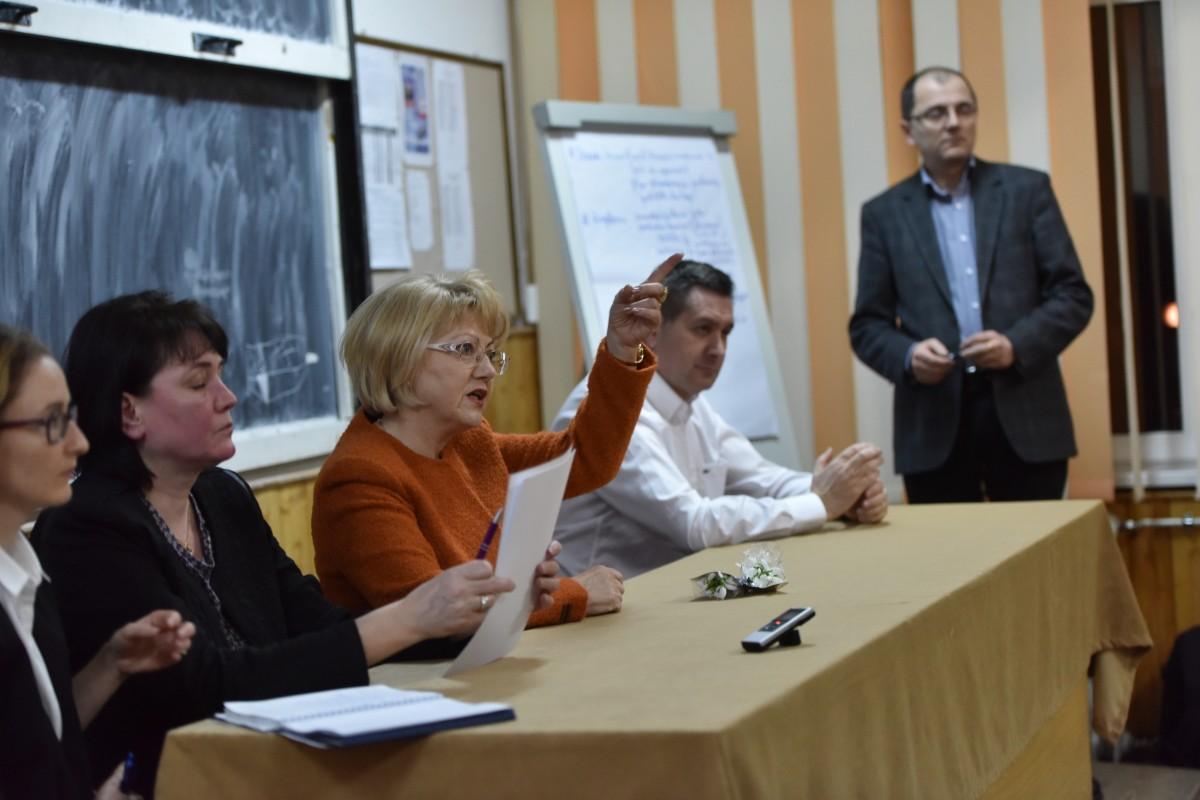 Eugen Iordănescu a condus dezbaterile organizate pentru elaborarea actualei strategii de dezvoltare a municipiului Sibiu