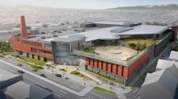 Accesul principal, pentru clienți, va fi realizat din bulevardul Corneliu Coposu