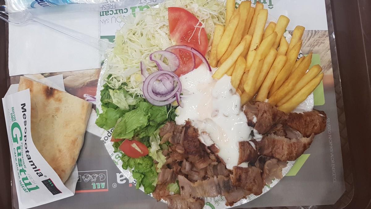 Piatto kebab, Mesopotamia