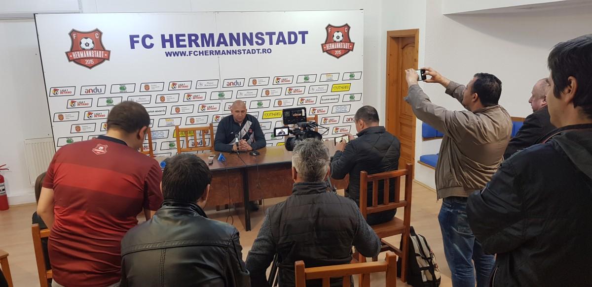conferinta de presa hermannstadt