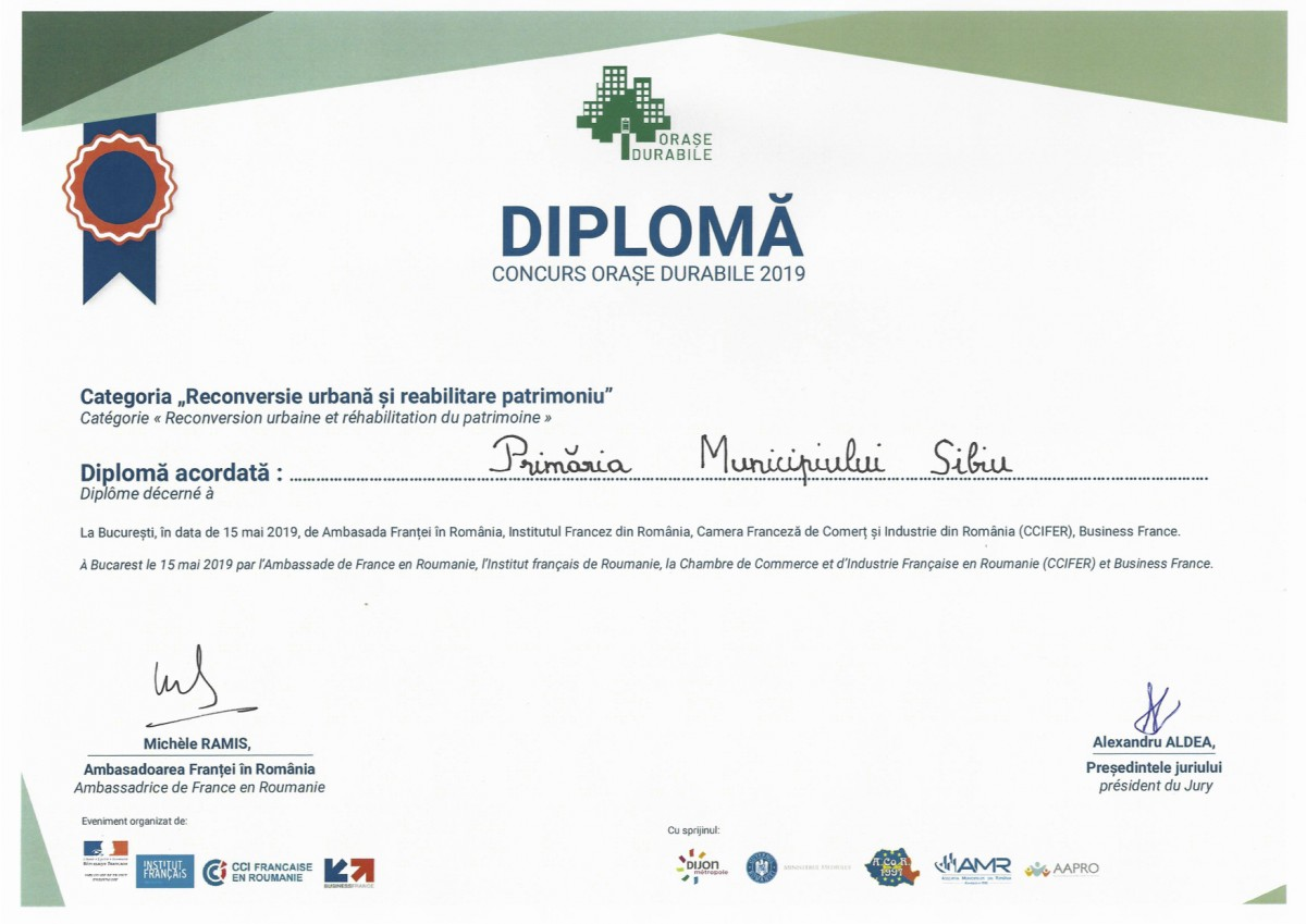 diploma vile durable