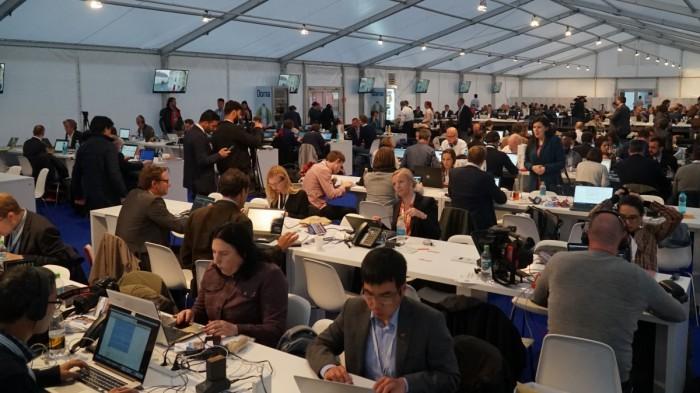 jurnalisti straini la summit