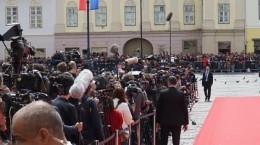 jurnalisti straini la summit presa garduri
