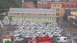 masini politisti parcare