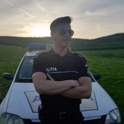 politist axente sever