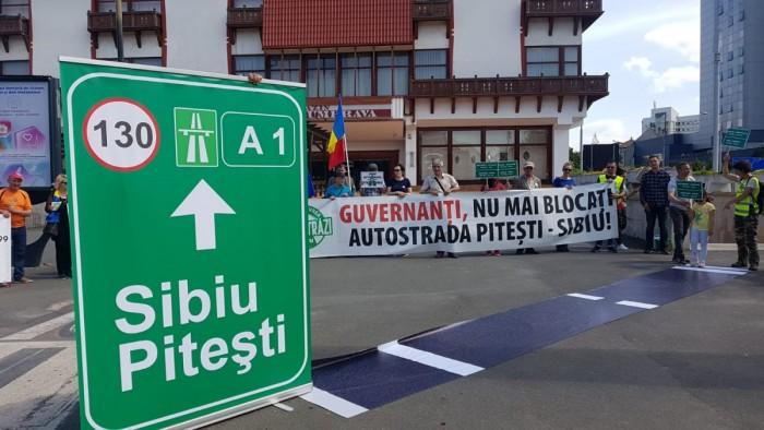 protest autostrada argeseni