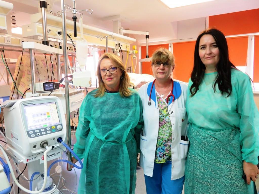 ventilator neonatologie donatie Salvati Copiii
