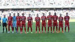Meciul de fotbal dintre Universitatea Cluj si AFC Hermannstadt din turul barajului pentru promovare/mentinere in Liga 1, disputat in Cluj-Napoca, duminica, 9 iunie 2019.DAN HORIA TAUTAN / MEDIAFAX FOTO