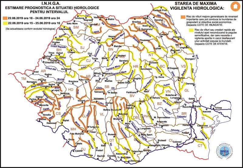 Harta_avertizare_Hidrologica_nr