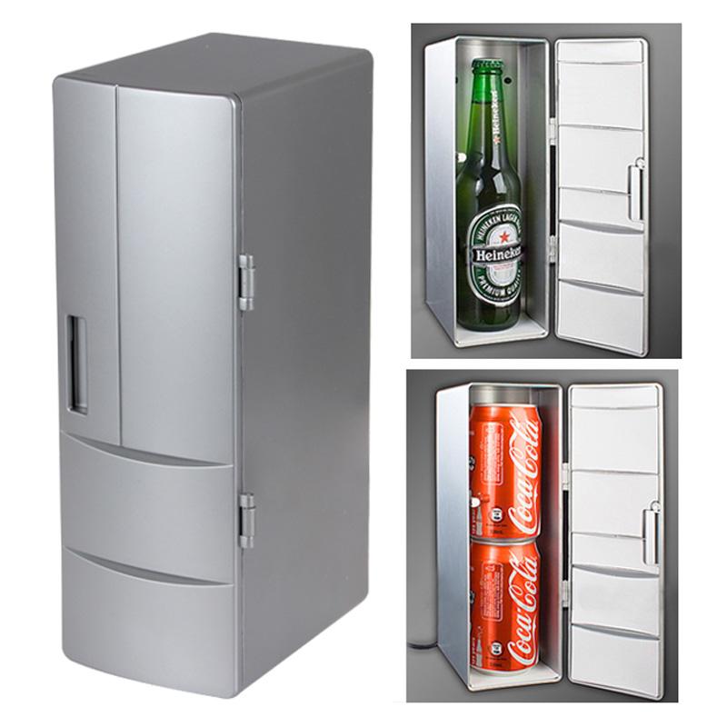 Mini frigider pentru birou USB