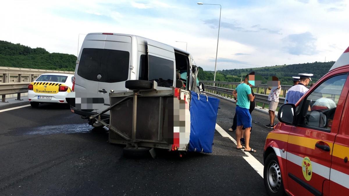 accident autostrada aciliu
