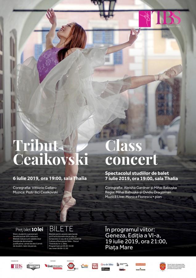 afis Tribut Ceaikovski+Class Concert