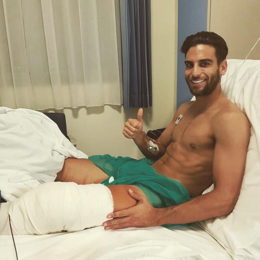 Fotbalistul se recuperează pentru noul sezon (Foto: pagina personală de facebook)