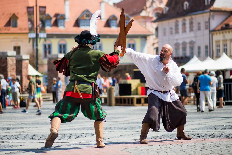 Festivalul Medieval - Blestemul Vrăjitoarei 1