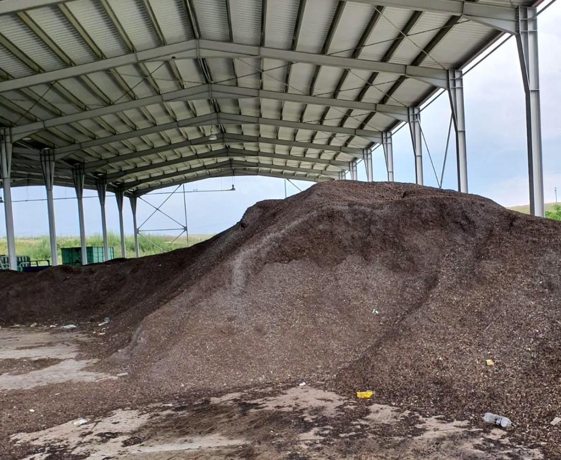 Compost care a trecut prin toate fazele de producție