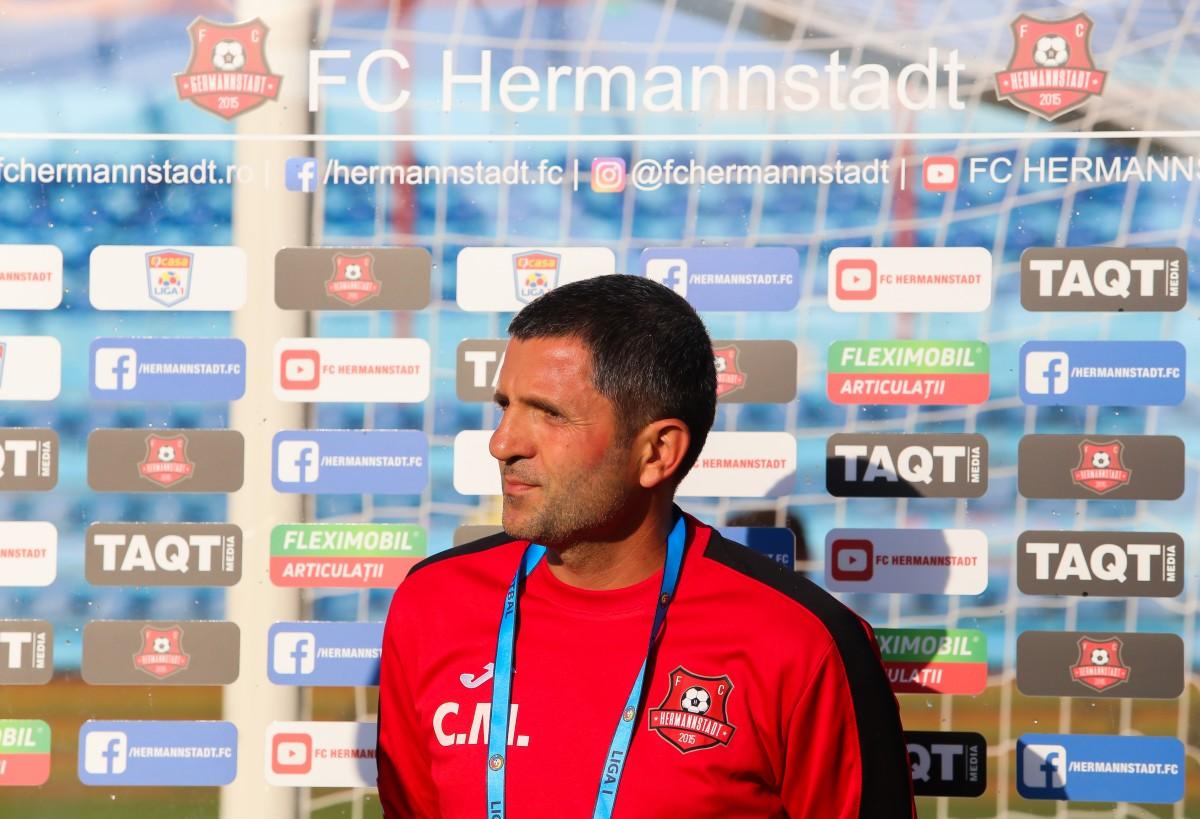 fotbal fc hermannstadt antrenor secund catalin munteanu