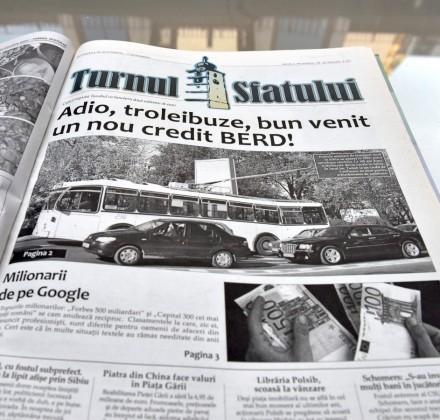 ziar turnul sfatului adio troleibuze