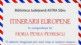 Afis Expo Horia Petra Petrescu