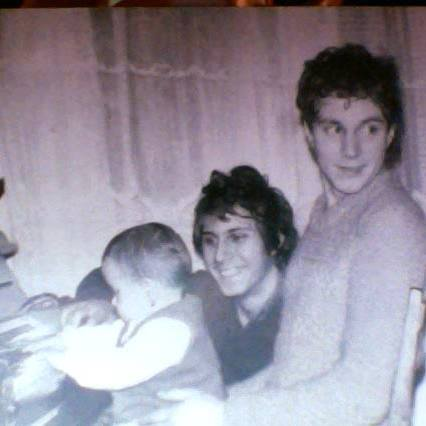 Andra Tonitza (stânga), Nicolae Tonitza (drepta) - fiul pictorului Nicolae Tonitza, tatăl Andrei