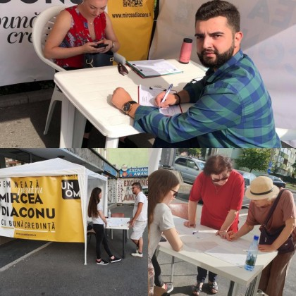 Semnaturi Alianata UN OM Sibiu