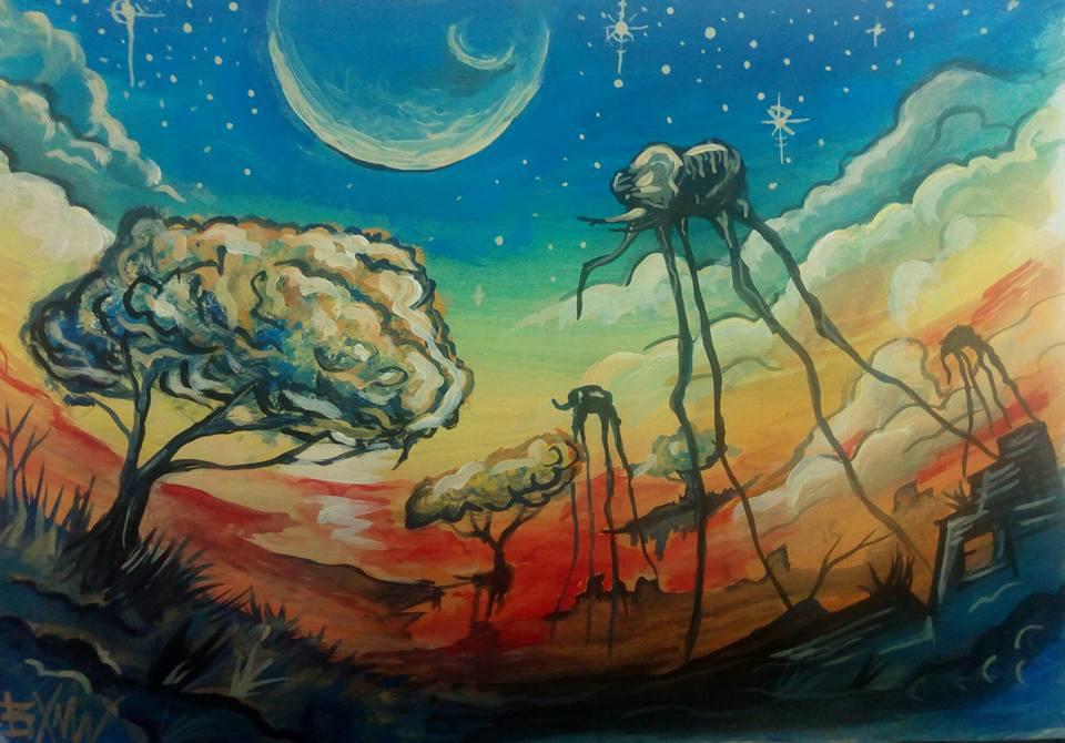 Pictură de Bogdan Muntean