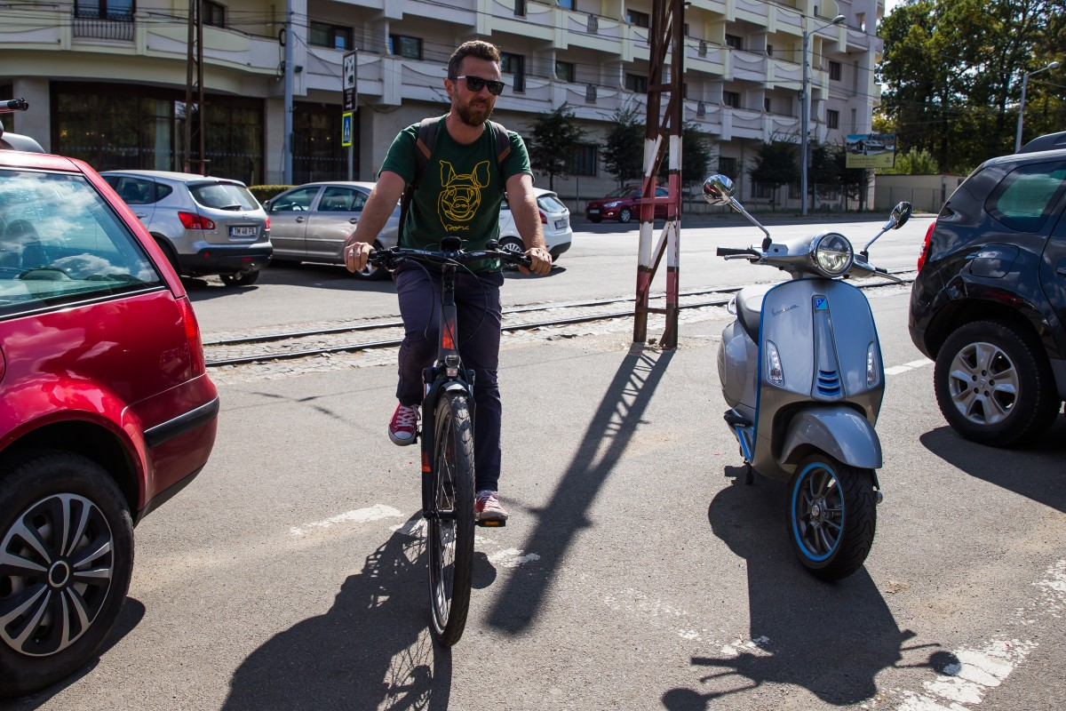 Bicicleta electrică e o alternativă de luat în calcul de fiecare dată