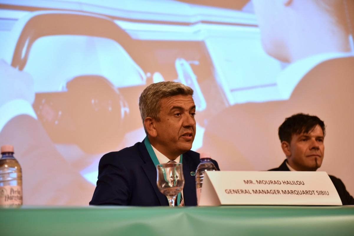 Mourad Halilou, manager general Marquardt Sibiu