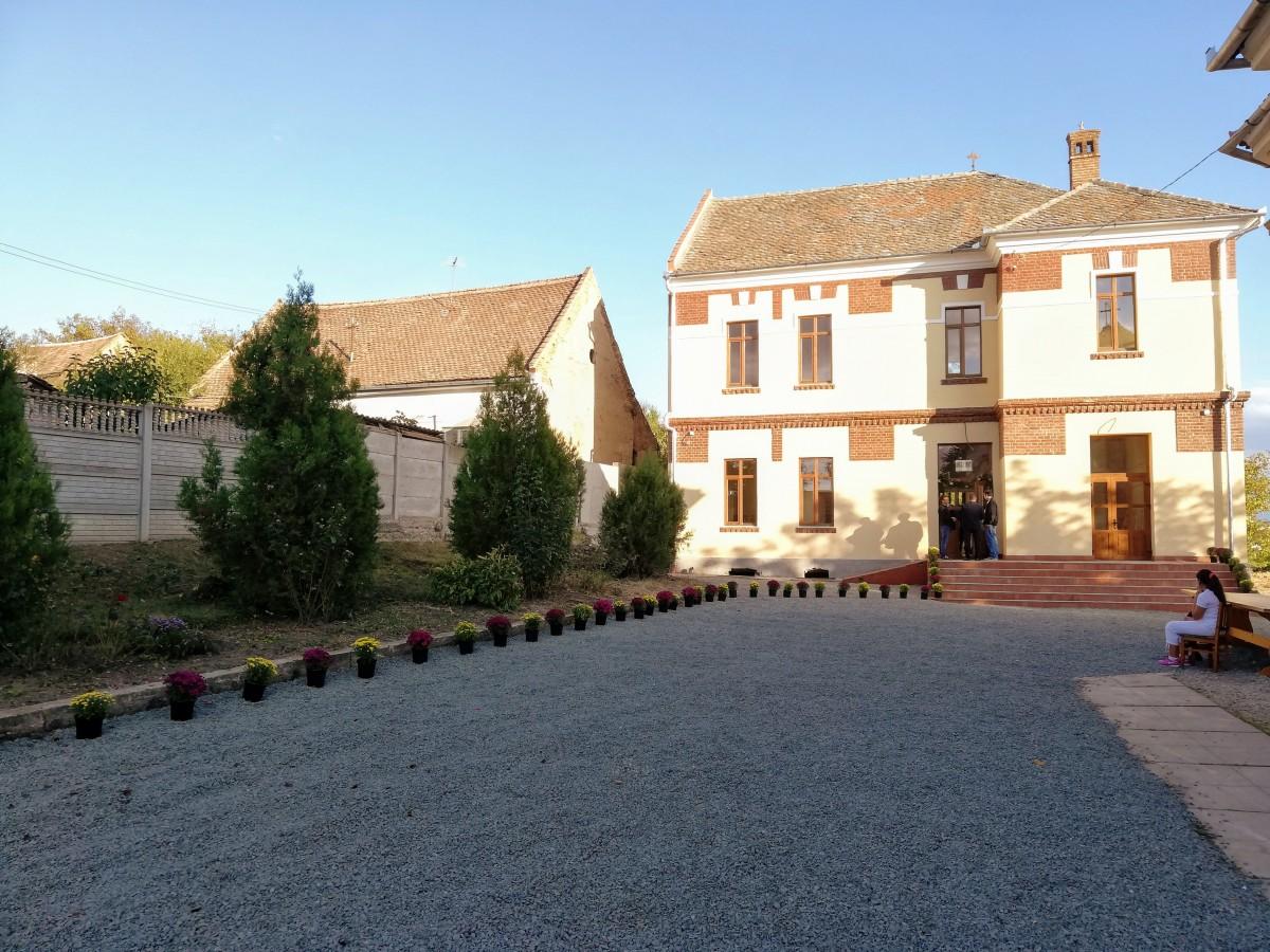 Școala din Gușterița, la sfârșitul anului 2019
