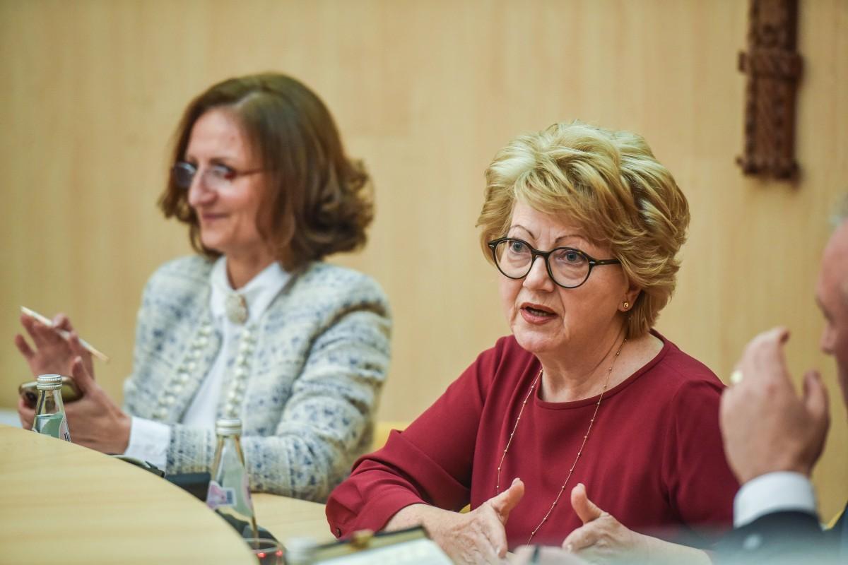 Daniela Cîmpean și Astrid Fodor
