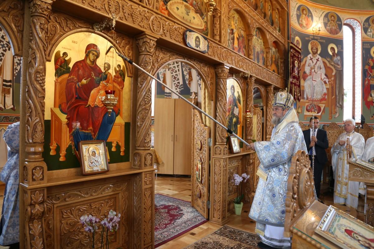 biserica bradu sfintire 2